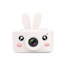 Цифровой фотоаппарат Lemon Tree D3 Plus с силиконовым чехлом Зайка (Белый)