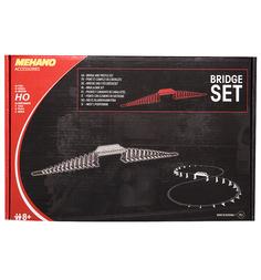 Мост с опорами для железной дороги Mehano с опорами 1 : 87