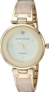 Женские часы в коллекции Diamond Женские часы Anne Klein 2512IVGB