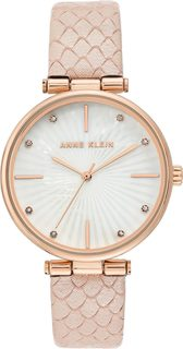Женские часы в коллекции Leather Женские часы Anne Klein 3754RGPK