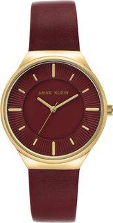 Женские часы в коллекции Leather Женские часы Anne Klein 3814BYBY