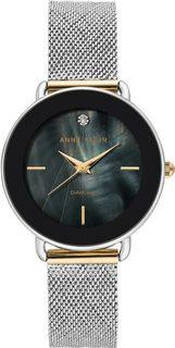 Женские часы в коллекции Diamond Женские часы Anne Klein 3687BKTT