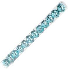 Елочный шар SYLD18-242 голубой металлический, 4 см, 12 шт