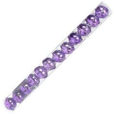 Елочный шар SYLD18-238 фиолетовый металлический, 4 см, 12 шт
