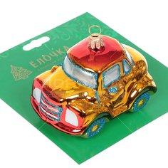 Елочная игрушка Ёлочка Машинка C1061