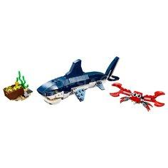 Игрушка детская конструктор LEGO Creator Обитатели морских глубин 31088