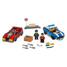Игрушка детская конструктор LEGO City Арест на шоссе 60242