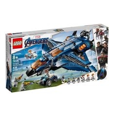 Игр Конструктор LEGO Super Heroes Модернизированный квинджет Мстителей 76126
