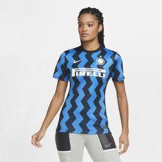 Женское футбольное джерси из домашней формы ФК «Интер Милан» 2020/21 Stadium Nike