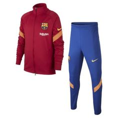 Футбольный костюм для школьников FC Barcelona Strike Nike