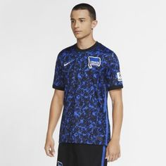 Мужское футбольное джерси из выездной формы ФК «Герта» 2020/21 Stadium Nike