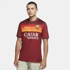Мужское футбольное джерси из домашней формы ФК «Рома» 2020/21 Stadium Nike
