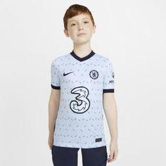 Футбольное джерси для школьников из выездной формы ФК «Челси» 2020/21 Stadium Nike