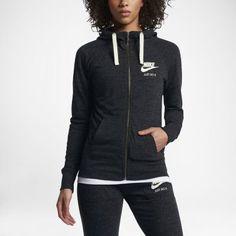 Женская худи c молнией во всю длину Nike Sportswear Gym Vintage