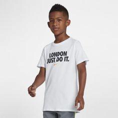 Футболка с графикой JDI для мальчиков Nike Sportswear