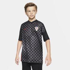Футбольное джерси для школьников Croatia 2020 Stadium Away Nike
