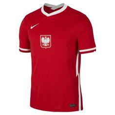 Мужское футбольное джерси из выездной формы сборной Польши 2020 Stadium Nike