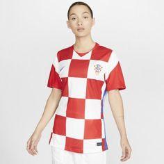 Женское футбольное джерси из домашней формы сборной Хорватии 2020 Stadium Nike