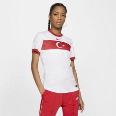 Женское футбольное джерси из домашней формы сборной Турции 2020 Stadium Nike