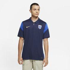 Мужское футбольное джерси из выездной формы сборной Финляндии 2020 Stadium Nike