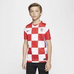Футбольное джерси для школьников из домашней формы сборной Хорватии 2020 Stadium Nike