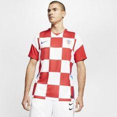 Мужское футбольное джерси из домашней формы сборной Хорватии 2020 Stadium Nike