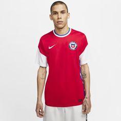 Мужское футбольное джерси из домашней формы сборной Чили 2020/21 Stadium Nike
