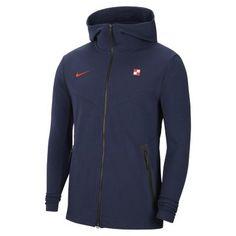 Мужская худи с молнией во всю длину с символикой Хорватии Tech Pack Nike