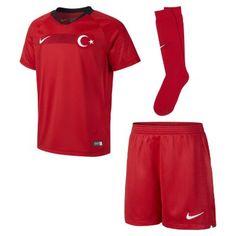 Футбольный комплект для дошкольников 2018 Turkey Stadium Home Nike