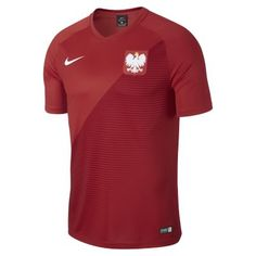 Мужское футбольное джерси 2018 Poland Stadium Away Nike
