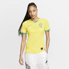 Женское футбольное джерси Brasil 2019 Stadium Home