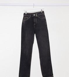 Черные джинсы прямого кроя в стиле 90-х COLLUSION x000 Unisex-Черный