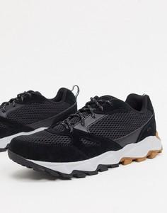 Светло-серые ботинки Columbia Ivo Trail-Черный