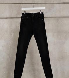 Черные джинсы скинни с завышенной талией Stradivarius Tall-Черный