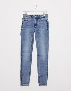 Синие джинсы скинни с эффектом пуш-ап из переработанного хлопка Pimkie-Синий