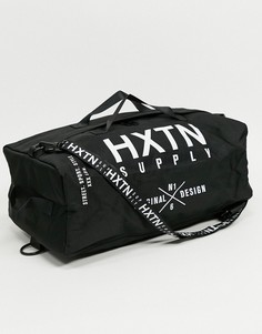 Черная сумка через плечо с логотипом HXTN-Черный