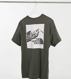 Зеленая футболка с принтом The North Face – эксклюзивно для ASOS-Зеленый