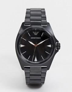 Наручные часы черного цвета Emporio Armani nicola AR11257-Черный
