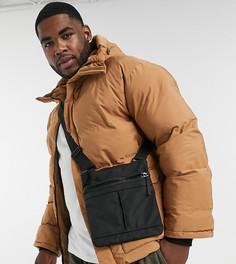 Бежевая дутая куртка в стиле oversize с карманами Sixth June-Светло-коричневый