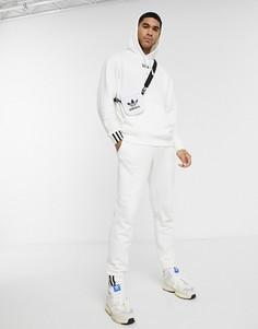 Белые джоггеры adidas Originals - vocal-Белый
