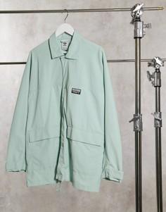 Зеленая куртка в стиле милитари adidas Originals R.Y.V.-Зеленый