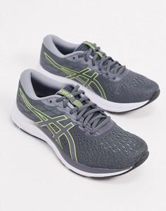 Серые кроссовки Asics Running gel excite 7-Серый
