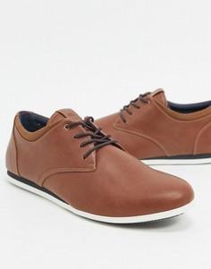 Коричневые туфли на шнуровке ALDO-Коричневый