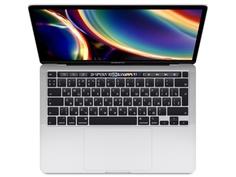 Ноутбук APPLE MacBook Pro 13 2020 MWP82RU/A Silver Выгодный набор + серт. 200Р!!!(Intel Core i5 2.0 GHz/16384Mb/1000Gb SSD/Intel Iris Plus Graphics/Wi-Fi/Bluetooth/Cam/13.3/2560x1600/Mac OS)