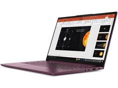 Ноутбук Lenovo Yoga Slim 7 14IIL05 82A10085RU (Intel Core i7-1065G7 1.3GHz/16384Mb/512Gb SSD/No ODD/Intel Iris Plus/Wi-Fi/Bluetooth/Cam/14/1920x1080/Windows 10 64-bit)