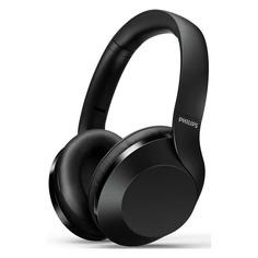 Наушники с микрофоном PHILIPS TAPH802BK, 3.5 мм/Bluetooth, накладные, черный [taph802bk/00]