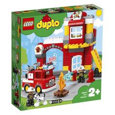 Конструктор LEGO Duplo Пожарное депо, для мальчиков, 10903