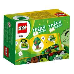 Конструктор LEGO Classic Зеленый набор для конструирования, для мальчиков и девочек, 11007