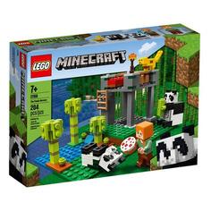 Конструктор LEGO Minecraft Питомник панд, для мальчиков и девочек, 21158