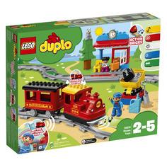 Конструктор LEGO Duplo Поезд на паровой тяге, для мальчиков, 10874